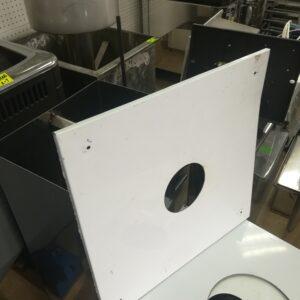 Экран защитный (430/0,5мм) 500*500 с отверстием Ф115