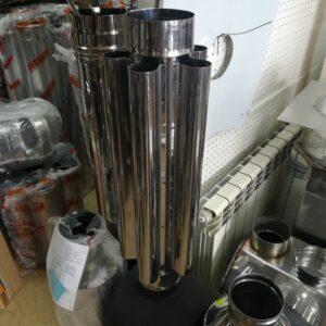 Дымоход-конвектор (430/0,8мм)Ф130