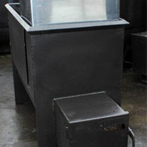 Печь банная Железный Очаг 20К с горловиной