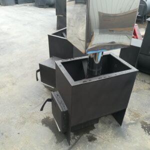 Печь банная Железный Очаг 14К без горловины