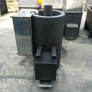 Печь банная Железный Очаг 35ОК с горловиной