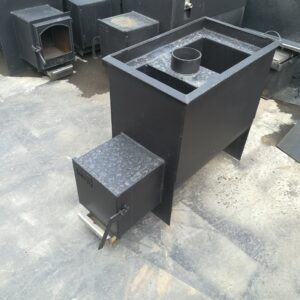Печь банная Железный Очаг 25М с горловиной